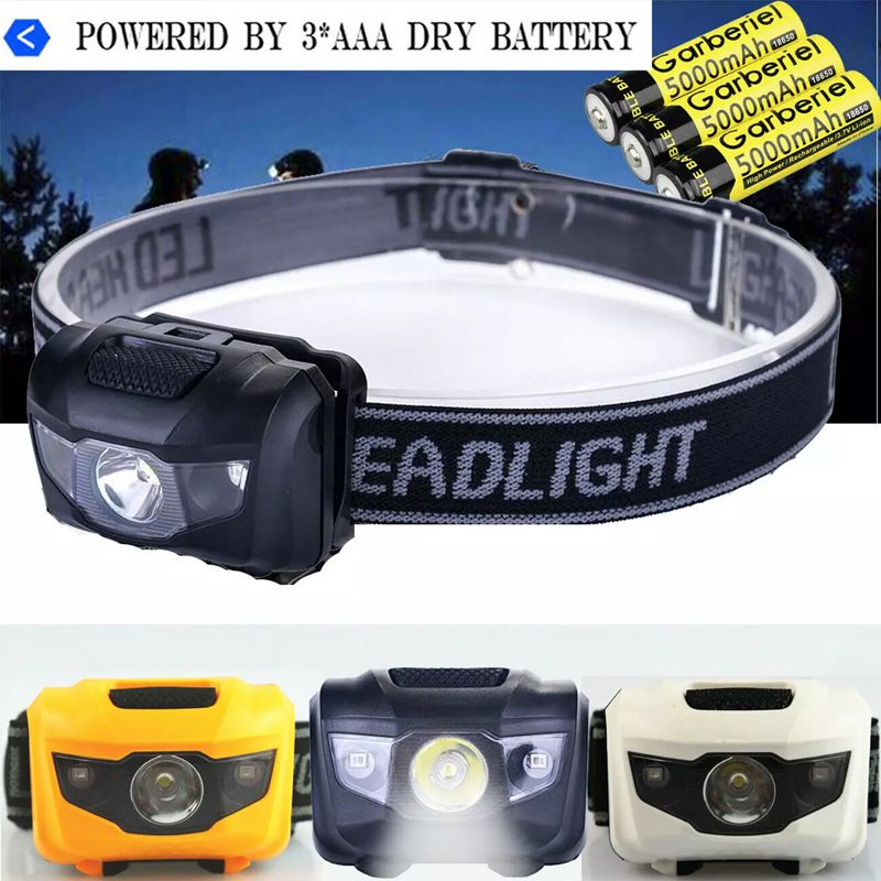 Rechargeable Outdoor Sports Headlamp LED Head Torch Headlight Lamp Camping Lights With USB