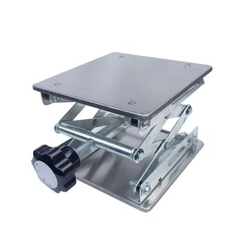 Stolarstwo rzeźba laboratorium stół podnoszący stojak ze stali nierdzewnej Planer stół podnoszący tanie i dobre opinie lift table