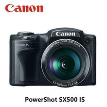 USED CANON 30x Digital CAMERA POWER SHOT SX500 IS 16MP 8GB M