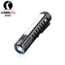 LUMINTOP E05C rodzaj USB 14500 latarka XPL HI główna dioda LED Nichia światło boczne obwód doładowania UI praktyczna mini latarka EDC