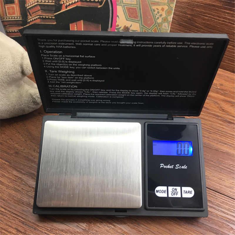 Genaue Digitale Unkraut Skala für Kraut Tabak Zigarette Grinder Unkraut Grinder Rauch Rauchen Rohr Unkraut Zubehör