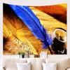100 bis 230cm – *7 Feder-Motive* Wandteppich / Tischdecke / Tuch, Vogelfedern Geschenk-Ideen | Tapisserie und Tischdecken 11