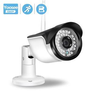 Image 1 - BESDER Yoosee gözetim açık IP kamera WiFi hareket algılama RTSP ONVIF güvenlik kamerası WiFi kablolu SD kart yuvası ile IP66 Metal