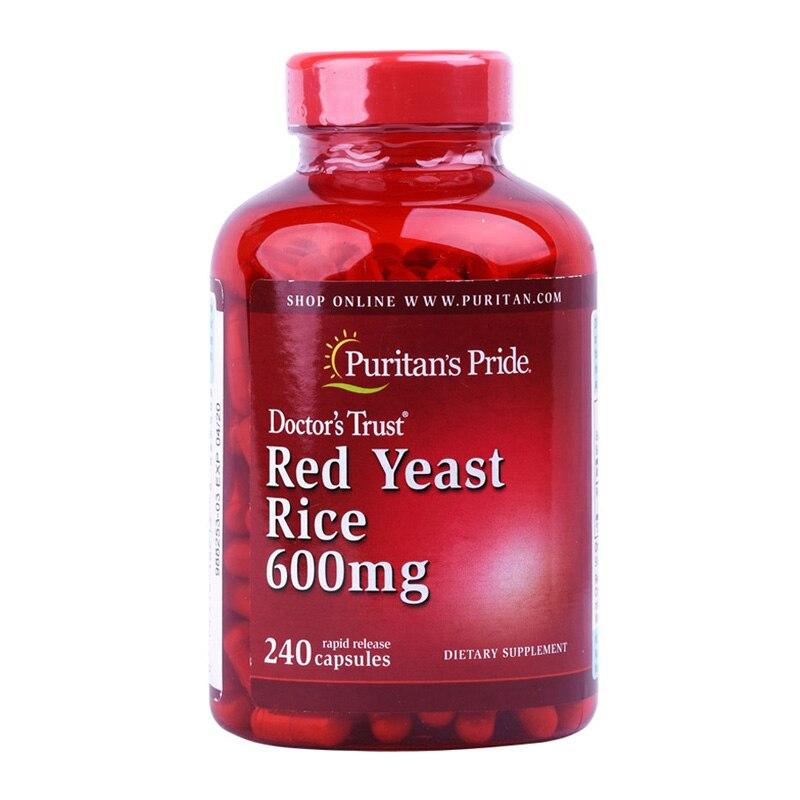 Free Shipping Red Yeast Rice 600 Mg 240 Pcs