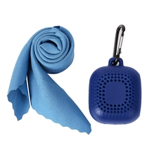 Outdoor Portable Silicone Quick-Drying Cold Sense Sports Towel Soft And Light Microfiber Gym Wipes Suitable F