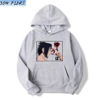 Naruto Hoodie Men Japanese Streetwear Mens Hoodies Hip Hop Hoody Sweatshirt Men Hoodies Sweatshirts 2019 Autumn Cartoon Hoodies