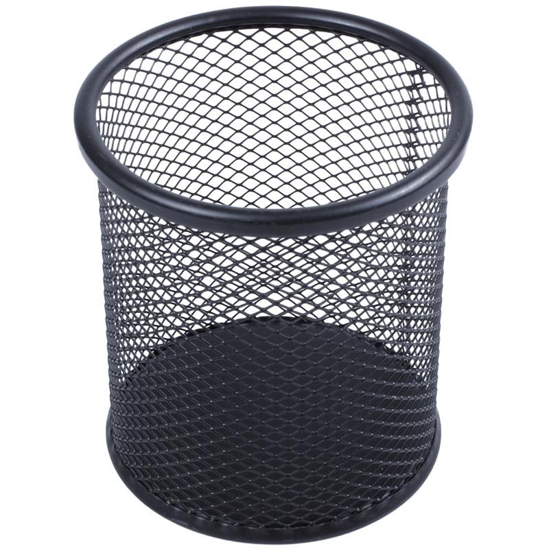 Steel Mesh Pencil Cup-black