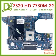 KEFU QCL00 LA-8241P 7520 Motherboard For dell Inspiron 15R 5520 7520 Laptop Motherboard AMD HD 7730M 2GB original 100% tested