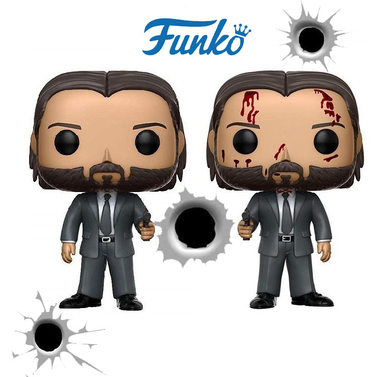 FUNKO POP Hurry 3 John Wick Children Christmas Birthday Surprise Gift Action Character Toy Doll Image Doll