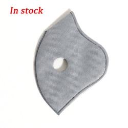 10 sztuk PM2.5 Maska jednorazowa filtr węgiel aktywny maski filtr Anti PM2.5 Maska z filtrem przeciw zanieczyszczeniom powietrza Maska twarzy filtry 2