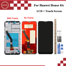 Ocolor Huawei onur için 8A onur oynamak 8A LCD ekran ve dokunmatik ekran 6.09 inç telefonu aksesuarları için Huawei onur 8A