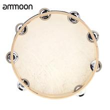 Bell Tambourine Drum Percussion Educational-Instrument Musical Metal Hand-Held for KTV