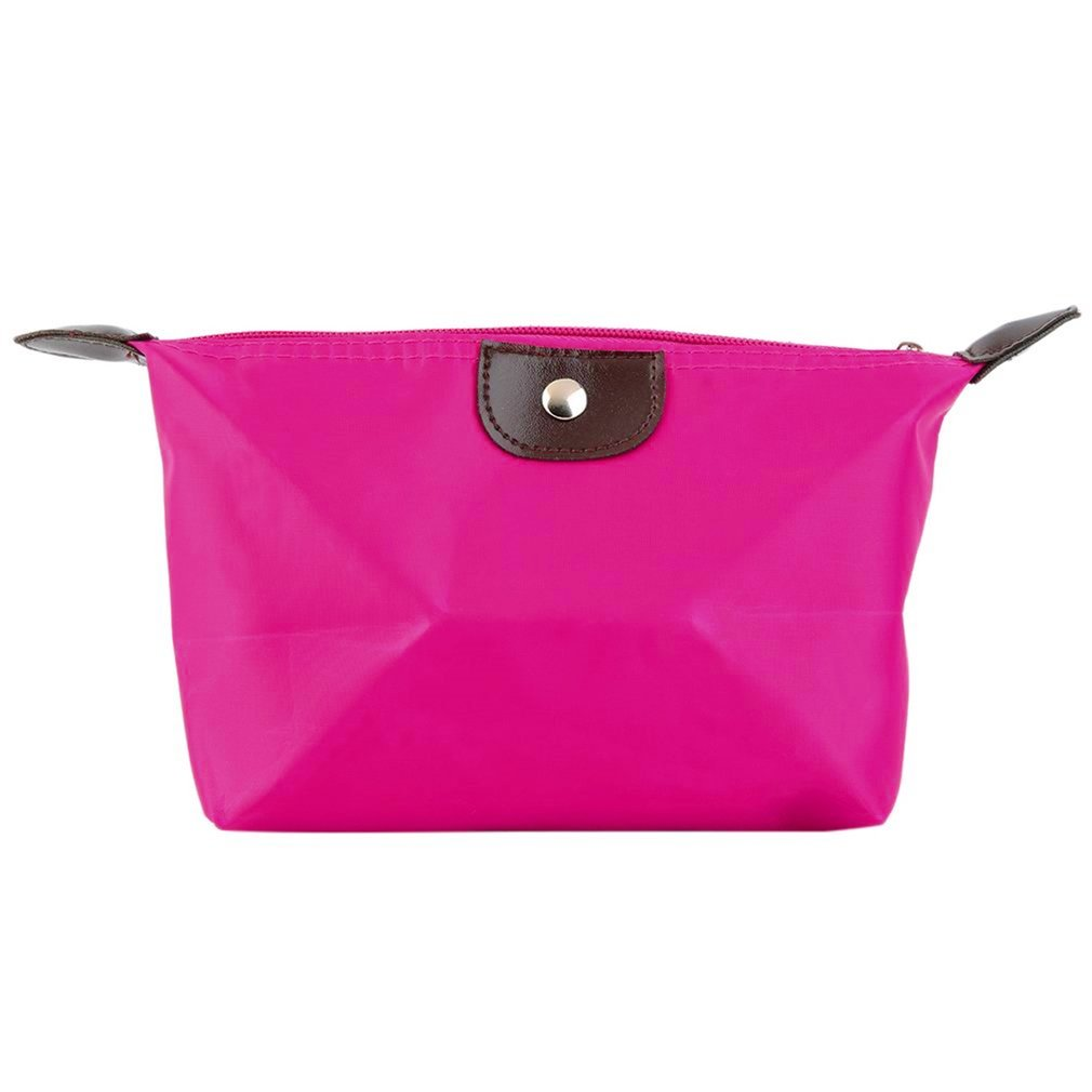 2018 New Fashion Woman Cosmetic Bag Storage Large Capacity Lady Travel Pouch Bags Clutch Makeup 1pcs Foldable