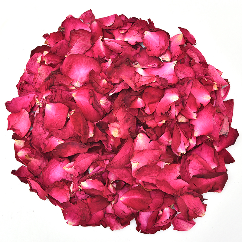1 Bag 50/100g Dried Rose Petals Natural Dry Flower Fragrant Bath Spa Shower Tool Whitening Bath Beauty Foot  Body Skin Care