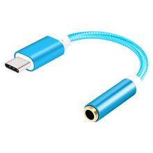 USB Type C to 3.5mm Headphone Jack Aux Audio Cable Adapter for Oneplus 7 pro Xiaomi Mi 9 8 se Samsung Note 10 Tipo c USB Adapter(China)