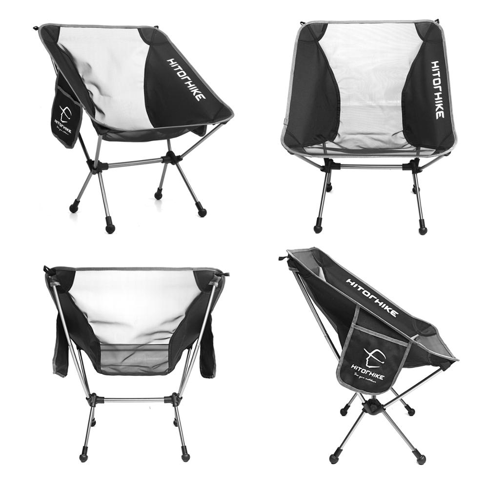 Portable Beach Hiking Picnic Seat Fishing Chair Outdoor Travel Ultralight Folding Chair Superhard High Load Seat Camping Stool