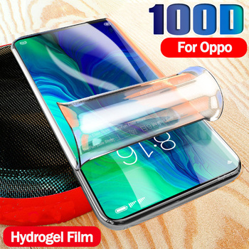Перейти на Алиэкспресс и купить Гидрогелевая Защитная пленка для oppo a92s, защитная пленка для oppo A3s A5 A5s A7 A9 2020 REALME X50 5 pro, защитная пленка для экрана, не стекло, защитная пленка д...