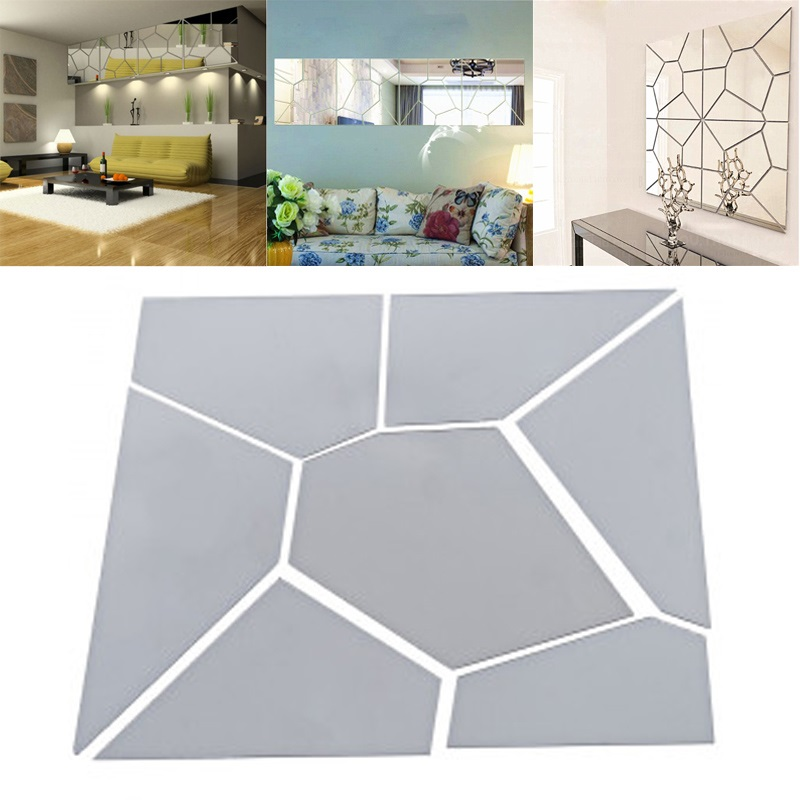 Creative 7pcs Moire Pattern Mirrors
