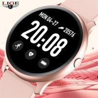 Frauen Männer Smart Elektronische Uhr Luxus Blutdruck Digitale Uhren Mode Kalorien Sport Armbanduhr DND Modus Für Android IOS