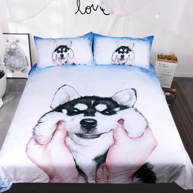 Best Wensd Customized High Quality Bed Set 3d Bedding Dachshund Bedroom Comforter Set Cute Animal Kids Bedding Comforter Sets On Aliexpress