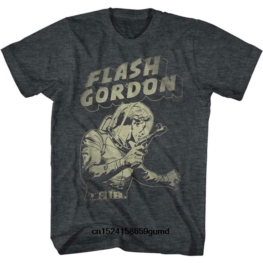 Funny Men t shirt Women novelty tshirt Flash Gordon Flash Aaaaaaa T-Shirt(China)