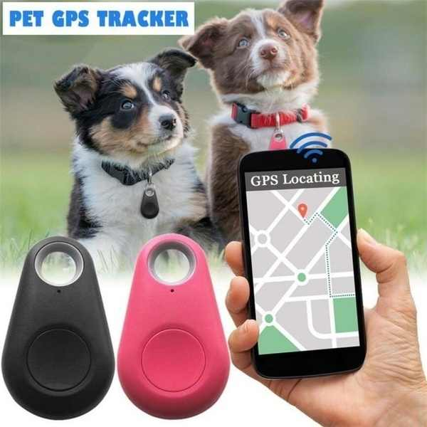 Smart Mini Bluetooth GPS Tracker untuk Hewan Peliharaan Kucing Anjing Kunci Dompet Tas Anak Tas Finder Peralatan Tahan Air