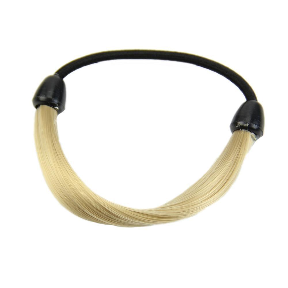 Модный корейский парик, заколки для волос, резинка для волос - Цвет: Золотой
