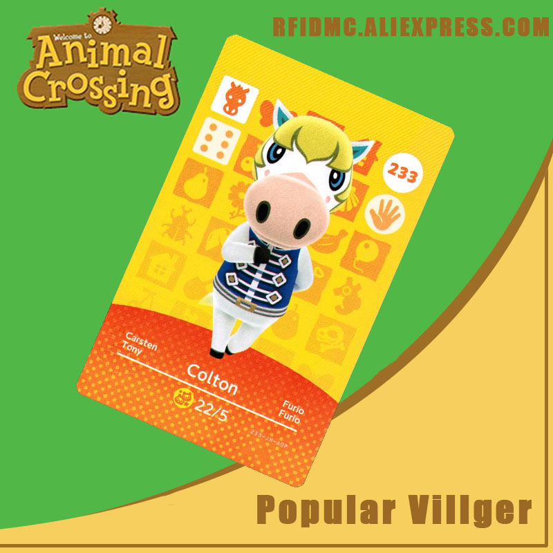 233 Colton Animal Crossing Card Amiibo For New Horizons