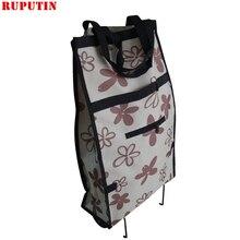Маленькая тележка для покупок, органайзер для еды, сумка на колесиках, сумки, складные переносные сумки для покупок, купить Сумка для овощей, буксировочная посылка