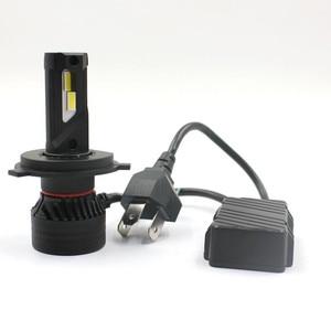 Image 5 - 90W 10000LM F3 H4 H7 H8 H11 h13 Car LED Headlights Bulb Fog Light H7 H11 H8 9005 9006 H1 880 Car LED Headlamp Kit