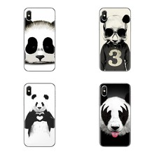 Soft Shell Case Kinds of Styles Super Cute Panda For Huawei G7 G8 P7 P8 P9 P10 P20 P30 Lite Mini Pro P Smart Plus 2017 2018 2019(China)