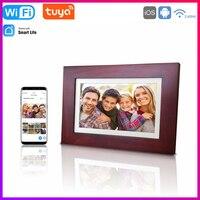 Marco de fotos Digital inteligente con WiFi, 1280x800 píxeles, Control por aplicación Tuya Smart Life, tablero de pantalla IPS LED, almacenamiento en la nube, decoración de luz para el hogar