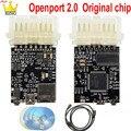 Openport 2,0 J2534 ECU Flash чип интерфейс настройки Tactrix Openport 2,0 Диагностика ECU FLASH полное Программное обеспечение PCB золотой Pin адаптер