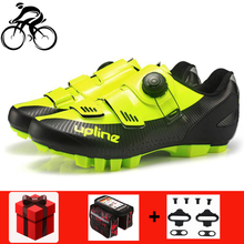 цена на Cycling Shoes Sapatilha Ciclismo MTB Professional Men Breathable Bike Bicycle Self-Locking Athletic Shoes Zapatillas Ciclismo