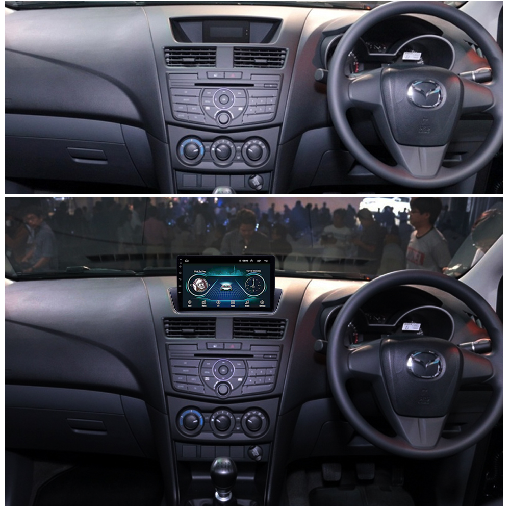 Auto Multimedia System für 2012 2018 Mazda BT 50 BT 50 BT50 AutoRadio Audio Stereo Rückansicht Kamera Video Player SWC Spiegel Link - 2