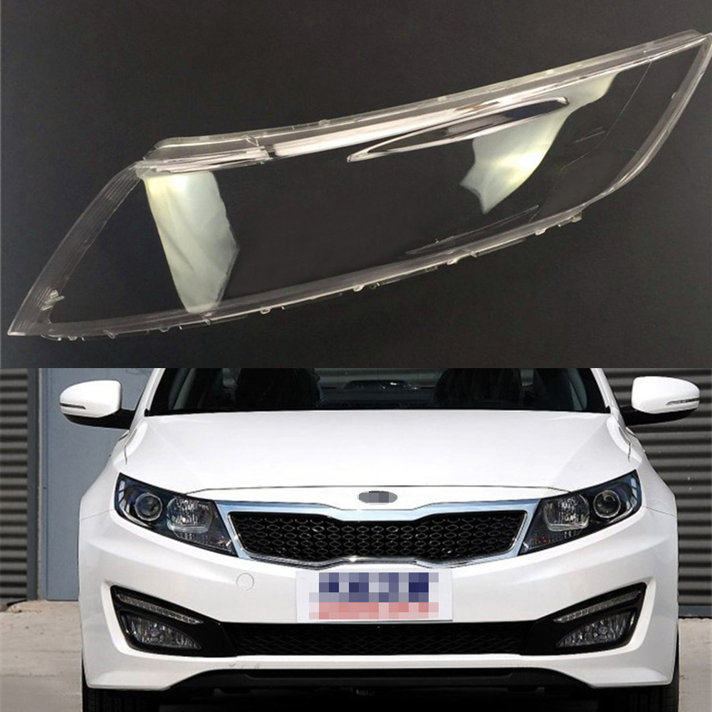 Car Headlamp Lens For Kia K5 2009 2010 2011 2012  Car  Replacement   Auto Shell Cover