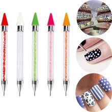 1шт DIY ногтей распределяя место дрель ручка маникюр пластики инструменты