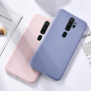 Skin-friendly Case For OPPO A5 (2020) Liquid Silicone Cases For OPPO A9 (2020) A11X Slim Soft TPU Microfiber Cover OPPO A5 2020
