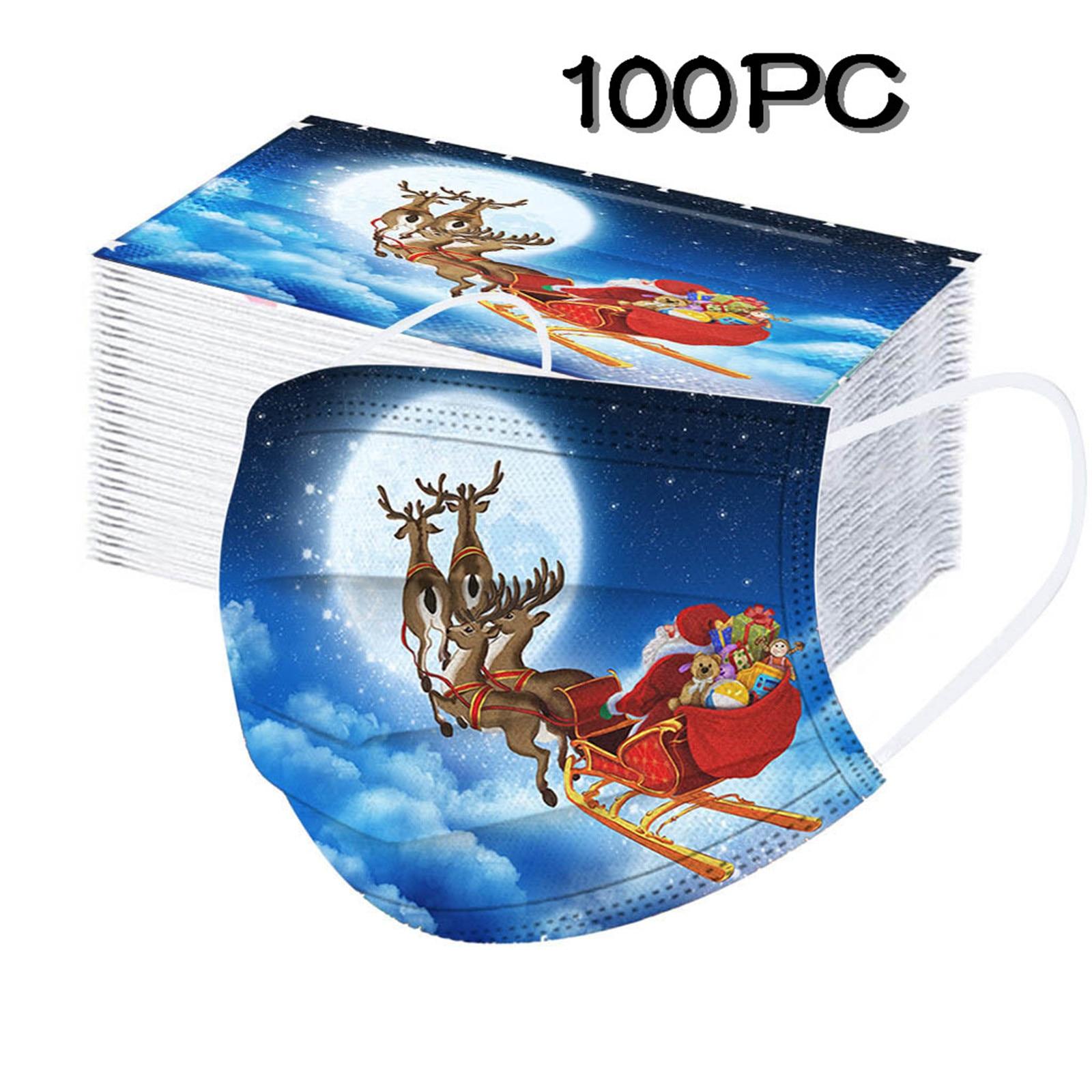Kerst Mondkapjes (wegwerp)