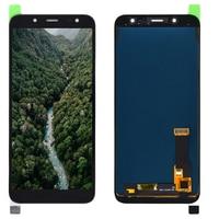 Para samsung galaxy j6 2018 j600 j600f j600f/ds testado display lcd com tela de toque digitador assembléia j600g/ds lcd substituição LCDs de celular     -