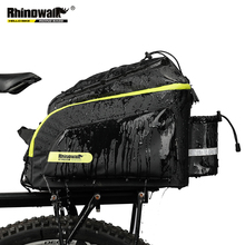 Pannier-Bag Reflective-Rack Rain-Cover Waterproof Rhinowalk 17L Rear Trunk with Detachable