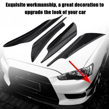Car Bumper Fins Canards Splitter Air Knife for BMW all series 1 2 3 4 5 6 7 X E F-series E46 E90 F09 Scooter Gran i8 Z4 X5 X4 image