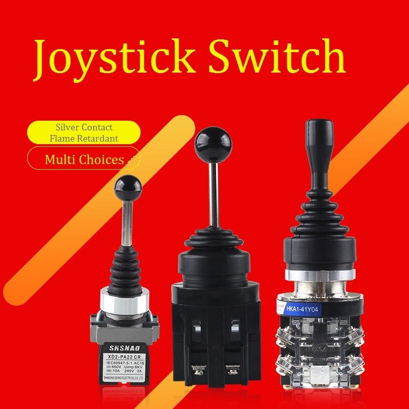 Joystick Switch 2Direction Joystick Controller 4Direction Cross Rocker Controller Switch For Industrial Machine 201 402 202 404
