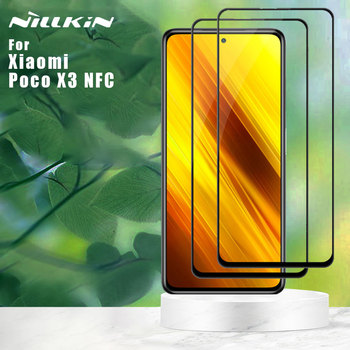 Nillkin for Xiaomi Poco X3 NFC Tempered Glass 2.5D 9H Pro Plus CP Plus XD CP Max Full Cover Screen Protector
