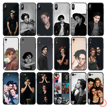 Jughead Jones riverdale Soft Silicone Phone Case for iPhone 11 Pro Xs Max X or 10 8 7 6 6S Plus 5 5S SE Xr 6 Plus 7Plus 8 Plus(China)