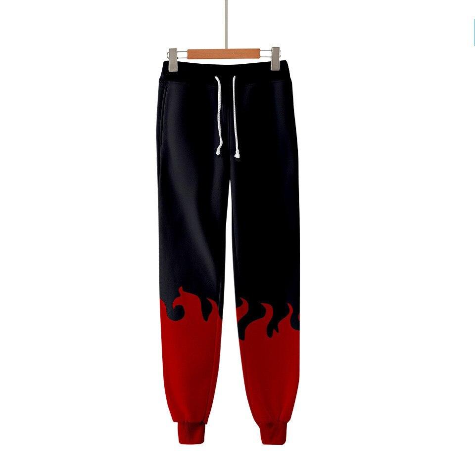 Boruto Uzumaki 3D Printed Jogger Pants Akatsuki Red Cloud Boys Student Anime Cosplay Sweatpants Harajuku Men/Women Trousers
