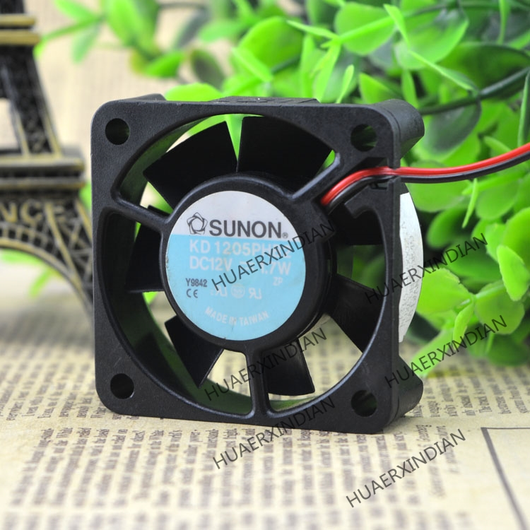 Original NEW KD1205PHB2 12V 1.7W 5015 Motor Protection Cooling Fan