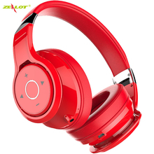 ZEALOT B22 HIFI stereo earphones bluetooth headphone music headset FM and support SD card with mic for Mobile zealot b570 bluetooth headphone foldable wireless hifi stereo headsets with lcd screen micro sd card slot mic fm radio for music
