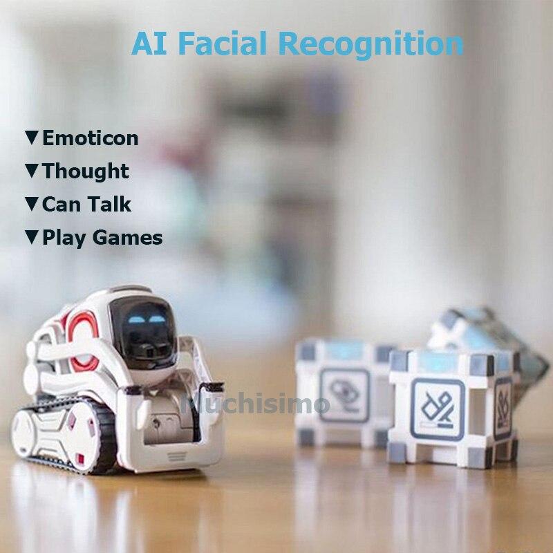 Robot Cozmo juguetes de alta tecnología Robot Cozmo Inteligencia Artificial voz familia interacción educación temprana niños Robot de juguete inteligente - 3