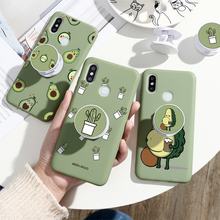 Finger Ring Phone Bracket TPU Cases For Xiaomi